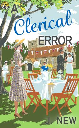 A Clerical Error by J New - Cozy British mystery series Book 3