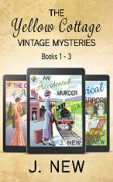 Bestselling Mystery series by J. New books 1 to 3 omnibus Edition boxset for kindle
