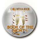 Chill with a book, book of the month award for The Curse of Arundel Hall from the bestselling mystery series by J. New