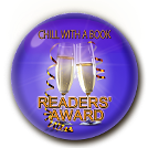 Chill with a book readers award for The Curse of Arundel Hall, Book 2 in the bestselling mystery series by J. New